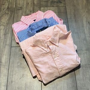 RALPH LAUREN Bundle of 3 Dress Shirts